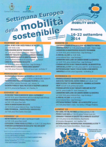 giornata europea della mobilità 2